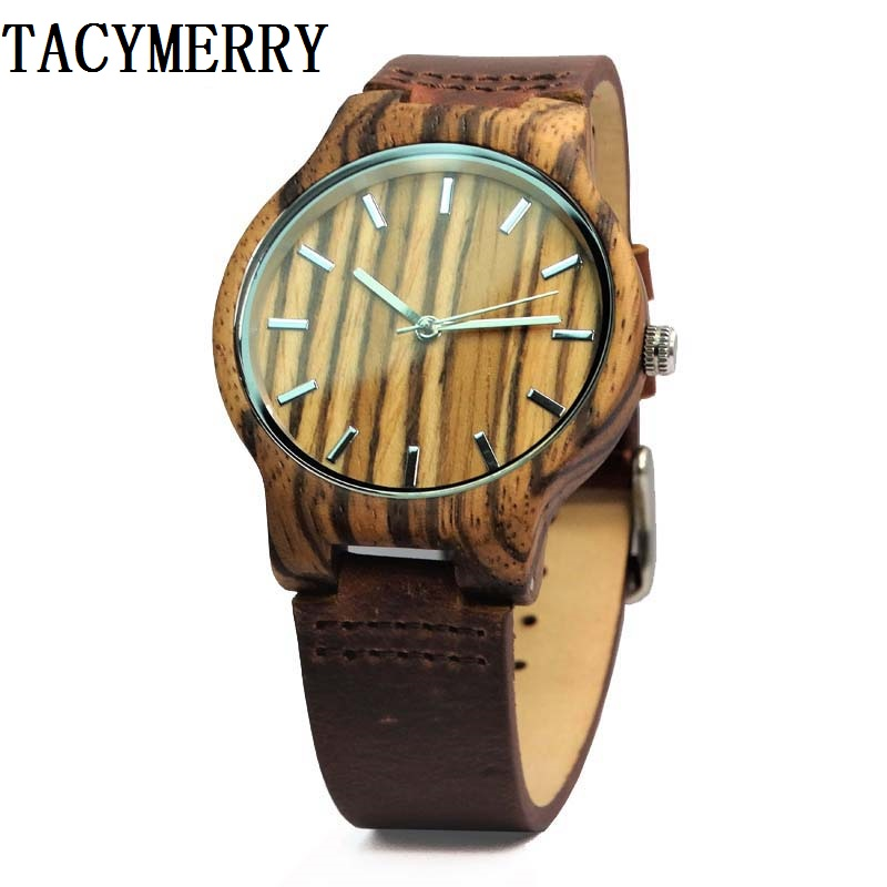 Zebra Wood Watch For Male and Female Fashion Christmas Gifts In a Idea Box With Japan MIYOTA Movement a christmas carol and other christmas writings