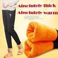 The new 2018 maternity pants velvet warm leggings abdominal heat preservation cotton pants pregnant women pregnancy pants