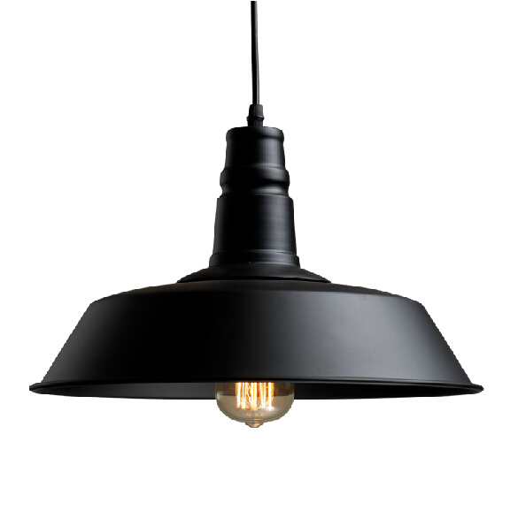 Black Industrial Light Part - 16: Aliexpresscom Buy Vintage Industrial Lighting Modern. 2015 Vintage Loft  Pendant Lights Metals Lighting Modern Industrial