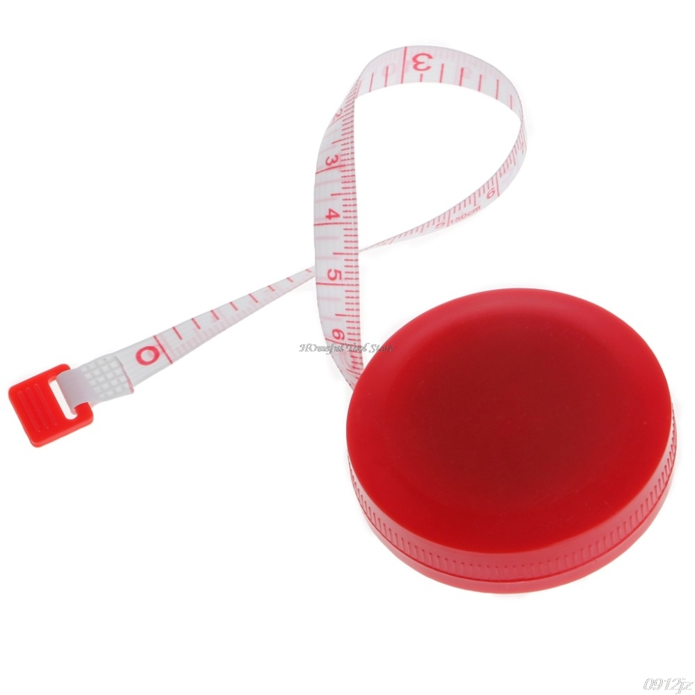 1.5m Retractable Ruler Tape Measure 60 inch For Sewing Cloth Dieting Tailor Rule Tape Measures Tools Dls HOmeful