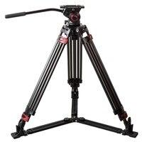 MTT609B Профессиональный штатив из углеродного волокна легкий видеокамера штатив w/жидкости голову