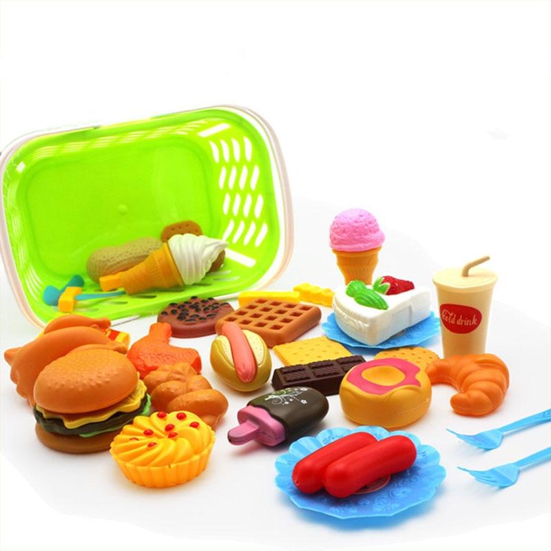 Swell Kids Pretend Play Miniature Fun Kitchen Plastic Food Birthday Cake Funny Birthday Cards Online Inifodamsfinfo