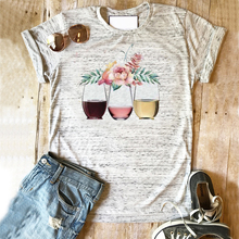 где купить graphic t shirts 2019 tee  women clothes print beer girls 90  vintage thanksgiving tops shirt floral дешево