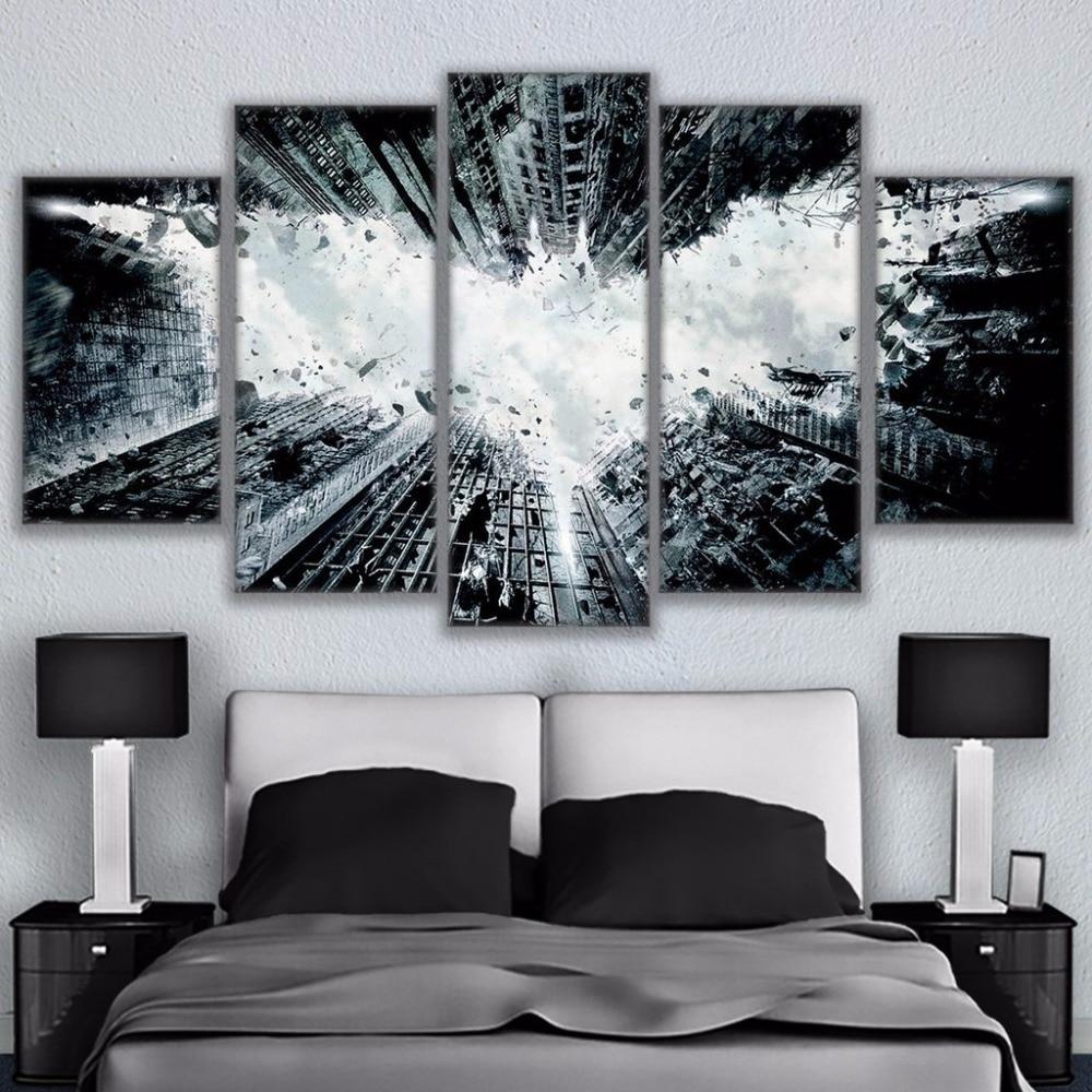 Modern Painting Canvas Basketball Wall Pictures Home Decor: Modern Home Decor Canvas Pictures Wall HD Art Framework