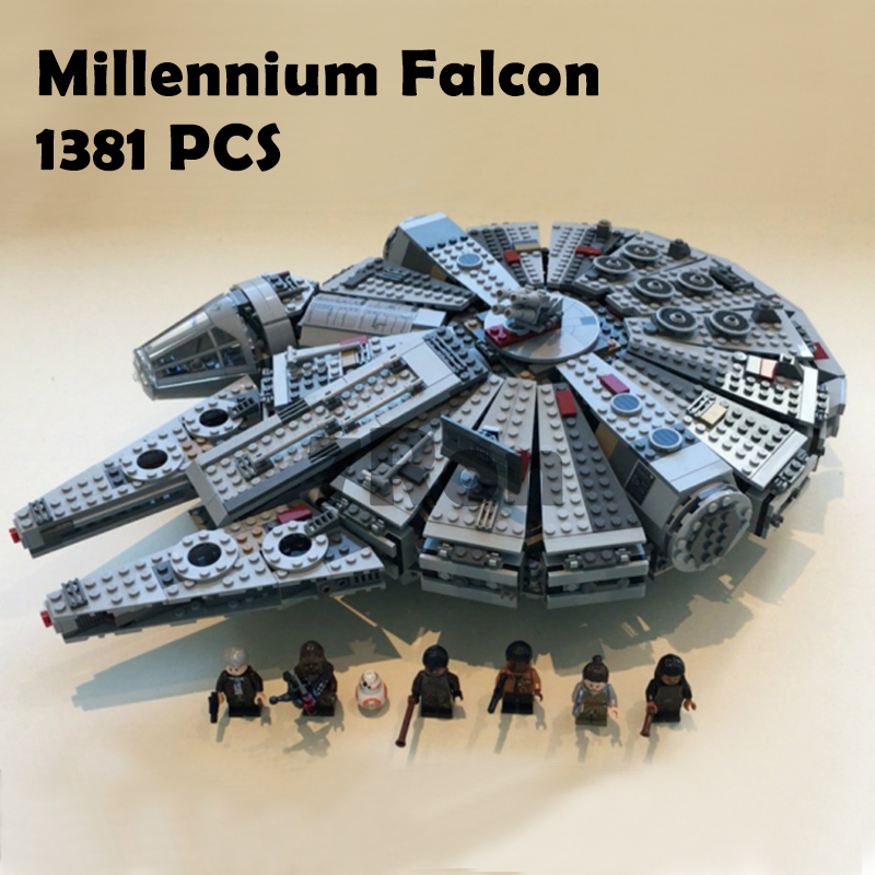 05007 Star Wars Millennium Falcon Figure Toys Model building blocks kits marvel Kids Toy Compatible with lego 75105 star wars 7 darth vader millennium falcon figure toys building blocks set marvel kits rey bb 8 compatible toy gift many types