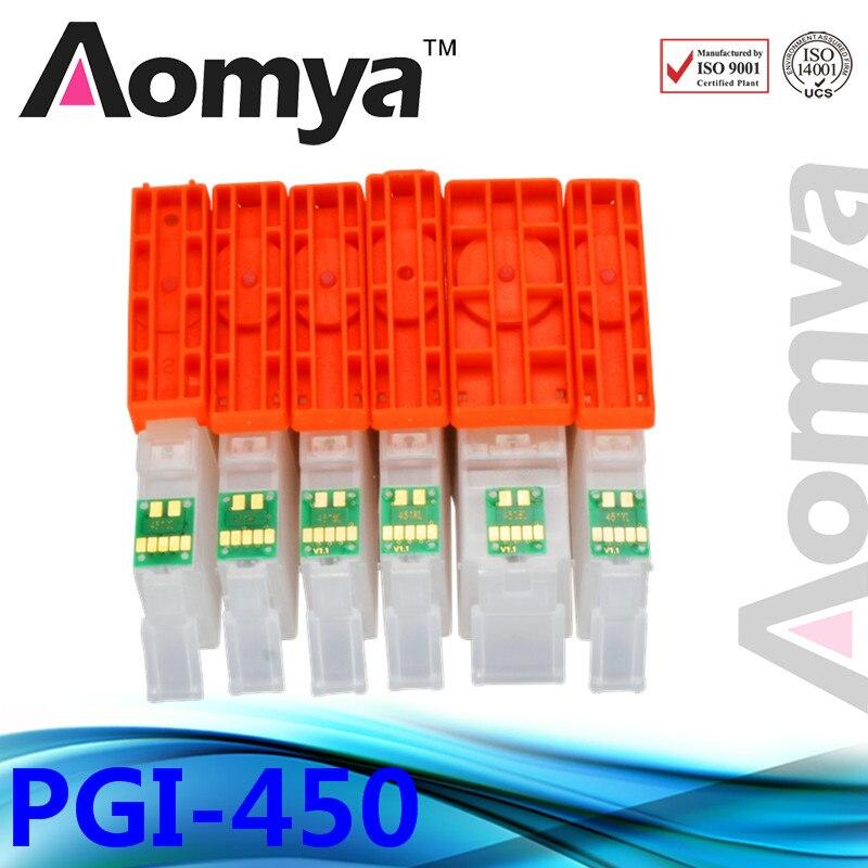 цены  PGI-450 PGI450 Empty Refill Ink Cartridge Suit For Canon PIXMA IP7240 MG5440 MG5540 MG6440 MG6640 MG5640 MX924 MX724 IX6840