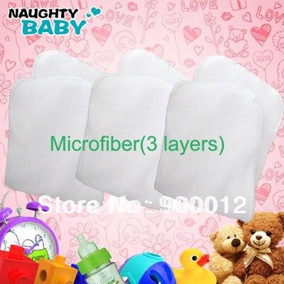 32 шт. новейшая Новая высококачественная поглощающая микрофибра(3 слоя) тканевые подгузники вкладыши подгузники