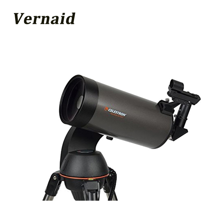 Celestron NexStar 127SLT Mak Computerized Telescope Professional Space Astronomical Telescope wide angle with GPS finderscope телескоп celestron nexstar 130 slt