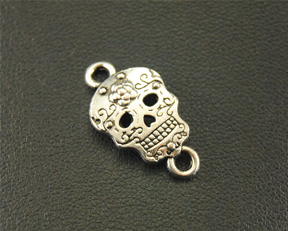 Chubby Chico Charms Folklore Pewter Charm on a Zipper Pull