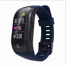 S908 Plus Bluetooth GPS Smart Bracelet IP68 Waterproof Heart Rate Monitor Fitness Tracker Multi Sport Wirstband(China)