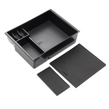 Car Center Console Armrest Tray Storage Box Organizer For MAZDA 3 AXELA 2013-2017 Car Styling Stowing Tidying Case