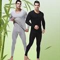Pijamas de Los Hombres de Algodón de manga Larga de Punto Del Sueño de Primavera Y Otoño Para Hombre pijamas Modal Pijama Conjunto de Salón de Los Hombres más el tamaño 4XL 5XL 6XL
