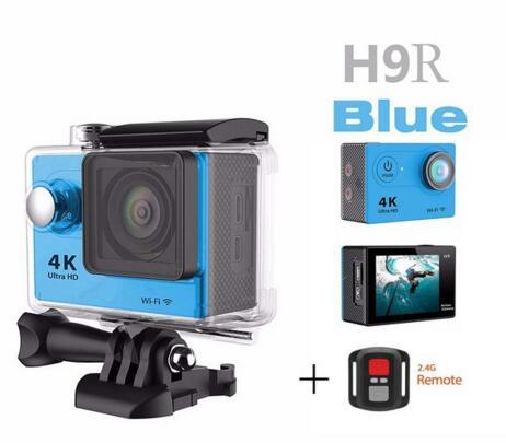 ФОТО hot H9R 2.4G Remote Ultra Upgraded 4K HD WIFI Sport Action Camera Go Waterproof Gro 1080P 12MP Sports DV deportiva Camera diving