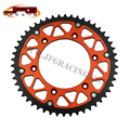 FREE SHIPPING 50T REAR SPROCKETS FOR KTM 125-600 ALL MODELS  OFF ROAD MOTORCYCLE