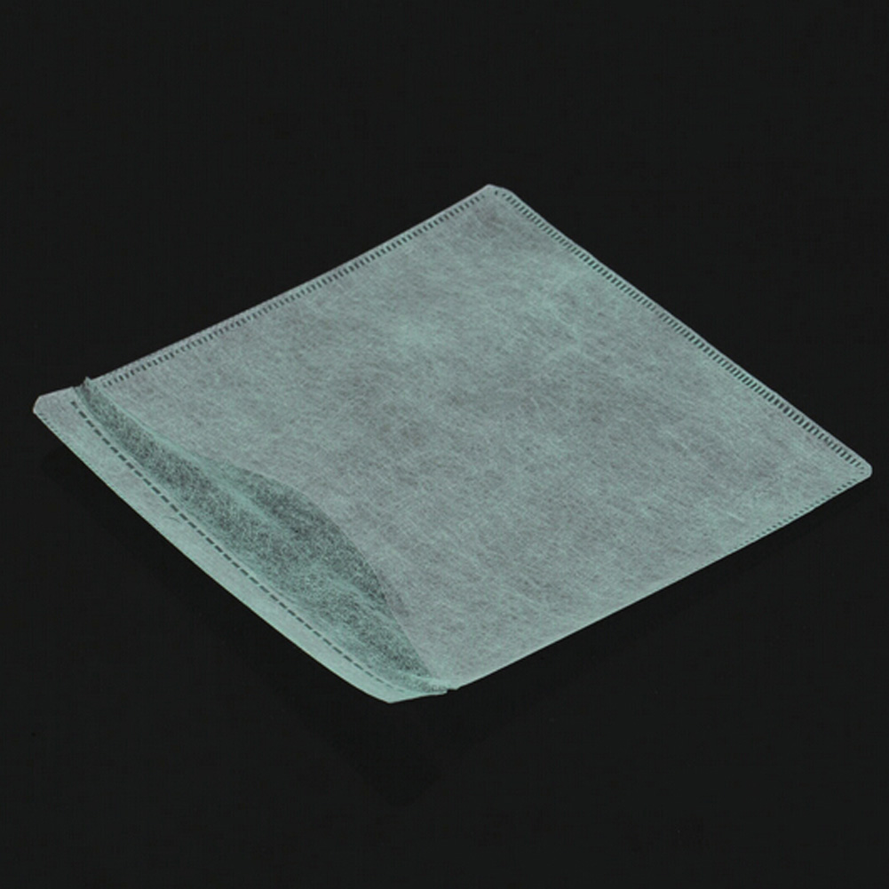 High Quality 100 pcs/lot CD DVD Double Sided Cover Storage Case Plastic Bag Sleeve Envelope Hold Color Random