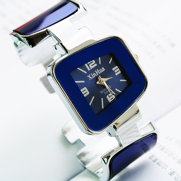 Luxury Brand Wholesale Price XIRHUA Square Dial Analog Women Fashion Ladies Lady Bracelet Student Bangle Watches Gift Wristwatch