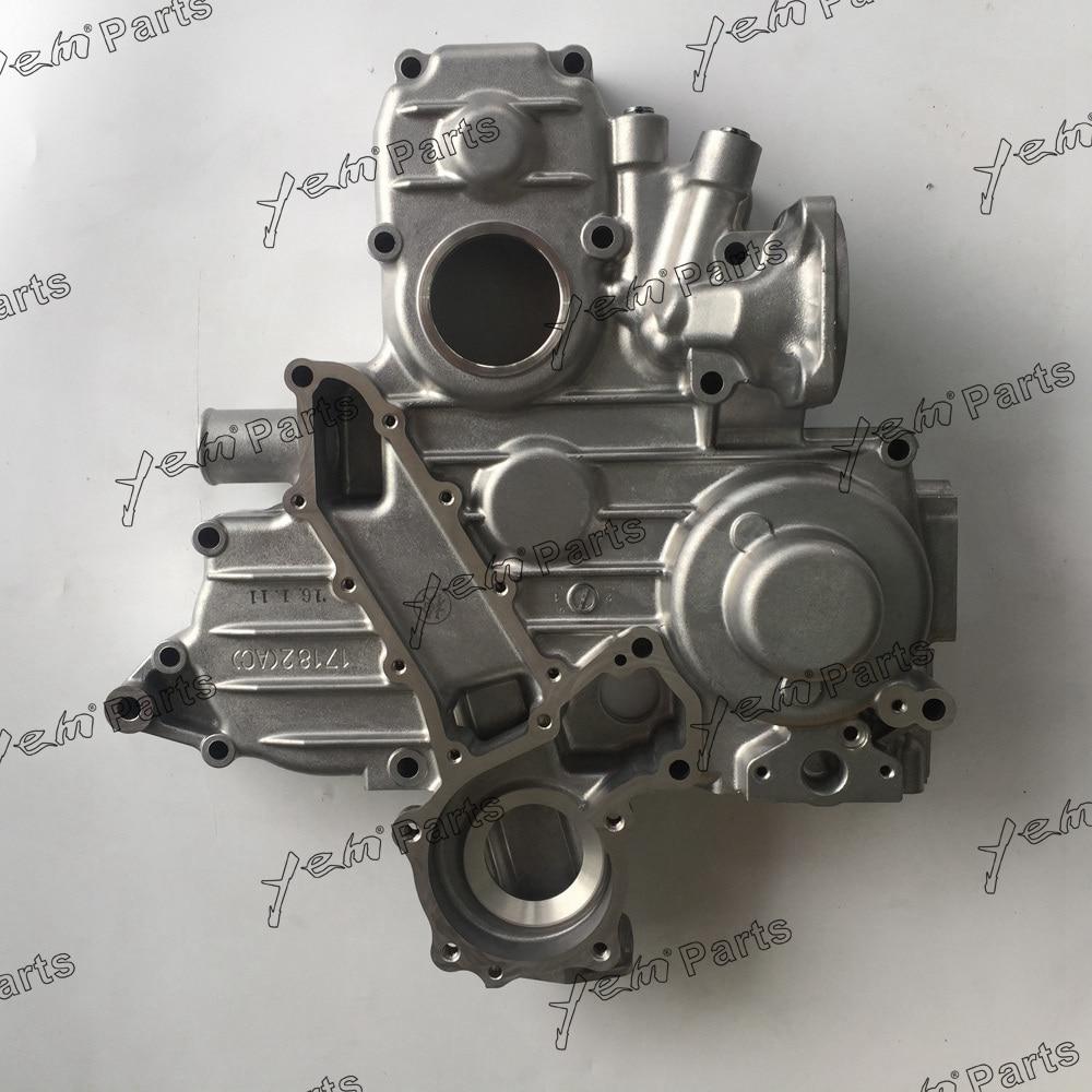 For Kubota V2203 Timing cover assy 17182-04020