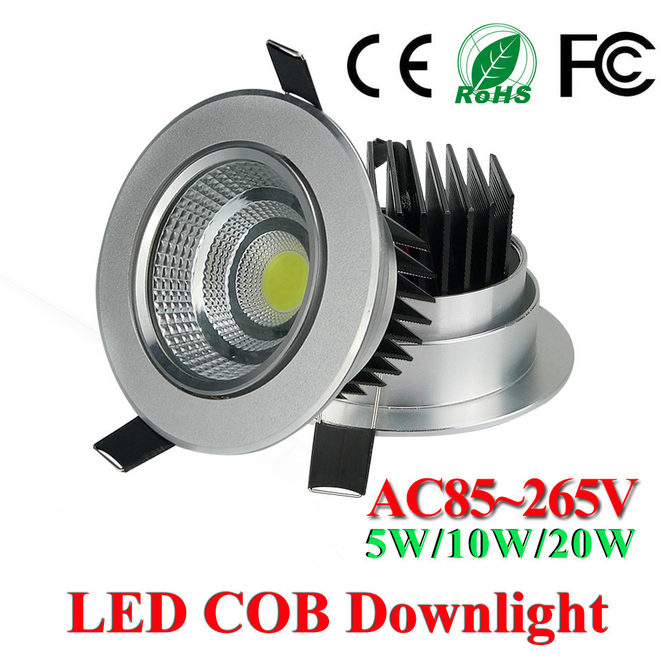 Buy hot sale led downlight 5w 10w 20w cob - Downlight led 20w ...