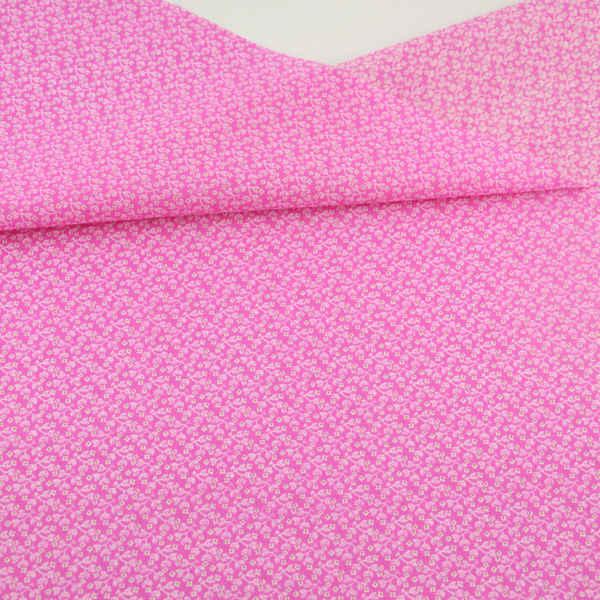 100% bawełna tkaniny jasny różowy kwiat projekt lalka Patchwork tkanki Telas Tecido dzieła sztuki miernik tkaniny Fat Quarter do szycia odzieży