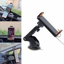 New 4-10 inch Tablet PC Phone Universal Car Windshield Suction Mount Holder Stand For iPad iphone Samsung LG Xiaomi