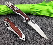 FADACAI Beautiful Folding Knife Survival Knife Hight Quality 8Cr13mov Steel Pocket Knife Collection