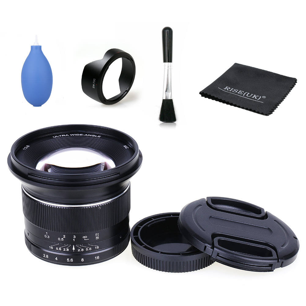 12mm F2.8 Wide Angle Fixed Lensfor micro M43 LUMIX GX8 G7 EP5 EPL5 OMD EM10 G6 GH2 GF5/6 GX1 mirrorless camera + gift