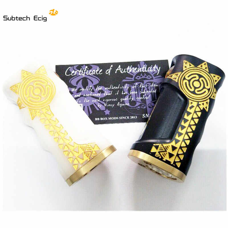 Newest Dagger Punyal Mech Mod Box Adjustable 510 pin intricately designed With 18650 battery 510 thread RDA RDTA Vaporizer