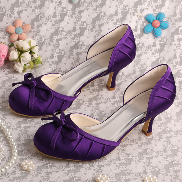 purple wedding shoes for bride wedopus handmade purple bridal shoes with 3 6924