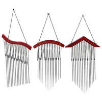 Metal Wind Chimes Outdoor Amazing Deep Resonant Relaxing 15 Tubes Windchime Bells Hanging Bed Room Home Decor