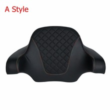 Motorcycle Chopped Tour Pak King Wrap Around Backrest For Harley Touring Street Glide Road King Road Electra Glide 2014-2018 цена