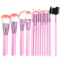 New Fashion Professional 14PCS Makeup Brush Set Professional Face Eye Shadow Eyeliner Foundation Blush Lip Makeup Brushes Tool Health & Beauty