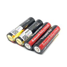100pcs/lot TrustFire Protected 18650 3.7V 2400mAh Camera Torch Flashlight 18650 Rechargeable Battery Batteries Free Shipping цена