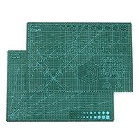 A3 ПВХ Самоисцеления коврик для резки ткани кожа Бумага инструменты для рисования Двусторонняя Исцеление разделочная доска