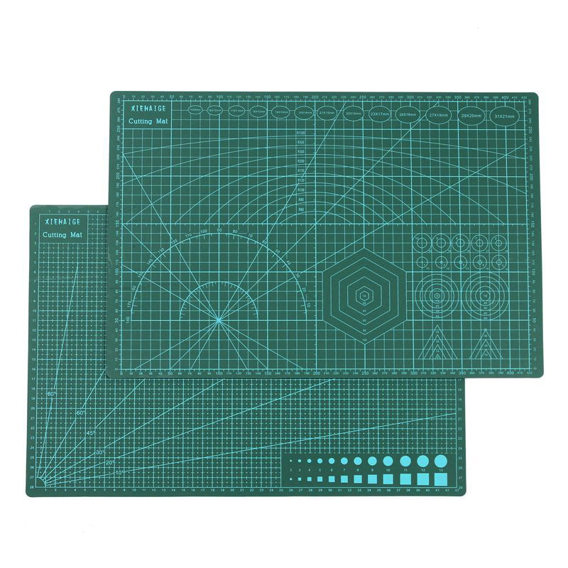 A3 PVC Self Healing Cutting Mat Fabric Leather Paper Craft DIY Tools Double-sided Healing Cutting BoardA3 PVC Self Healing Cutting Mat Fabric Leather Paper Craft DIY Tools Double-sided Healing Cutting Board