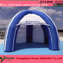 Бесплатная доставка Надувные дисплей палатка для наружной рекламы событие 6mDiax3mH с вентилятором и простых логотипов