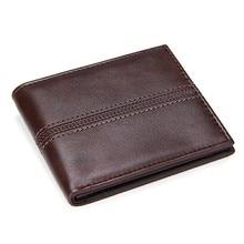 цена Solid Men's Leather Wallets Business Men Slim Short Wallet Luxury Design 2 fold Money Bag Coin Pocket Credit Card Holder Male PU онлайн в 2017 году