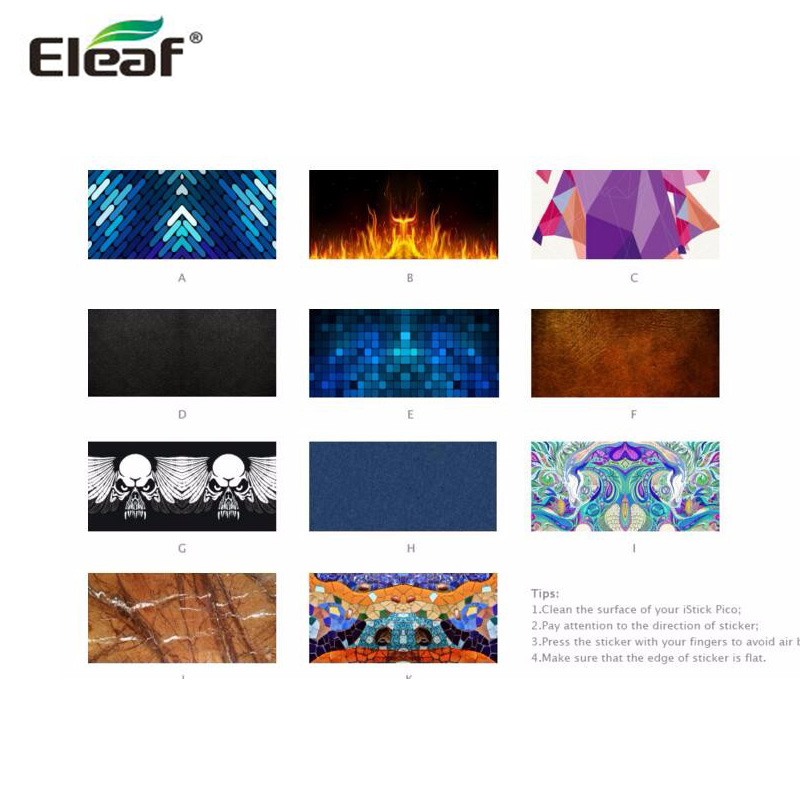 Us 285 5 Offoriginal Eleaf Istick Pico Stickers For Istick Pico Battery In Electronic Cigarette Accessories From Consumer Electronics On