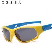 TESIA Super Quality Kids Sunglasses Boys Girls Sun Glasses For Children Polarized Safe Eyewear Oculos Infantil S816