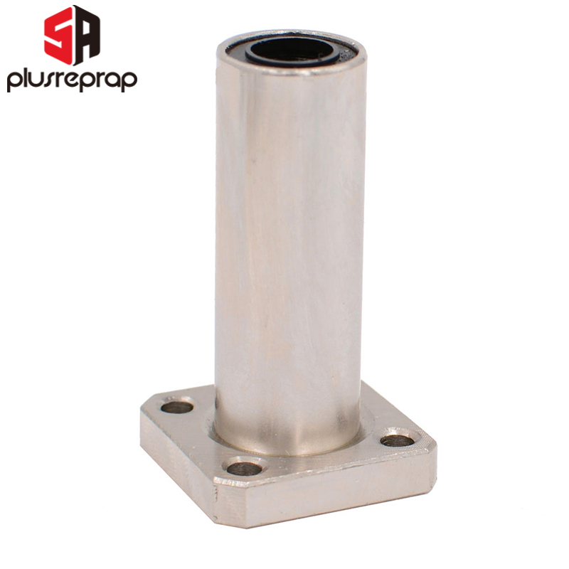 LMK8LUU LMK10LUU LMK12LUU Long Type Flange Bearing Linear Bush XYZ Axis 3D Printer Parts