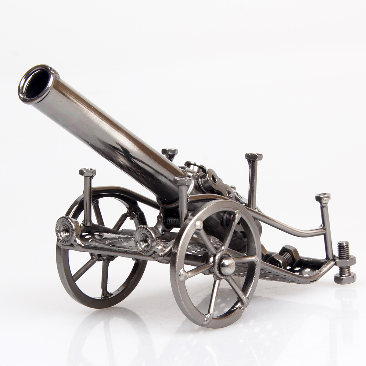 metal crafts Iron cannon model spot sales Wrought iron crafts, gifts ...