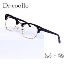 Handmade Acetate Glasses Frame New Prescription Eyeglasses Women 2019 Half Myopia Optical Eyewear
