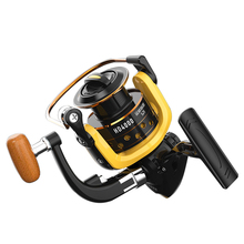 Metal reel line cup spinning fishing reel 1000 2000 3000 4000 5000 6000 7000 type spinning fishing wheel цена 2017