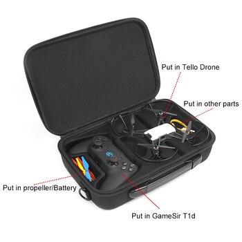 DJI Tello Drone & Bag & GameSir T1d & Cover 720P HD Transmission Camera APP Remote Control Folding Toy FPV RC Quadcopter Drone 10