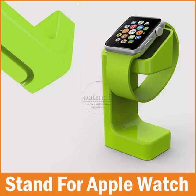New Fashion Design Luxury New Desktop Stand Holder Charger Cord Hold For Apple Watch Series 3 2 1 holder keeper 38mm 42mm