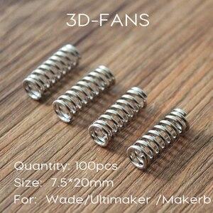 100 шт 3D принтер экструдер с подогревом пружинный для Ultimaker 2 Makerbot Уэйд экструдер