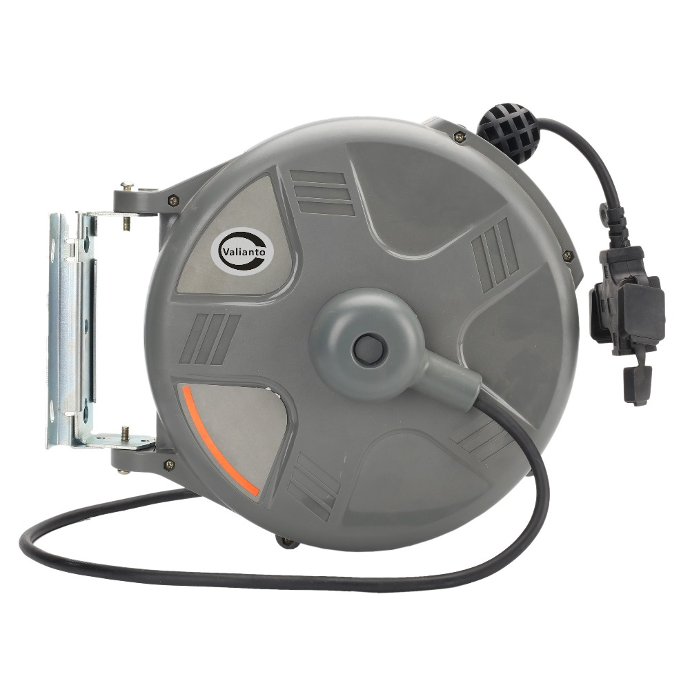 HD-150 33ft Heavy Duty Power Electric Retractable Cord Reel Air Blower Industrial Blower цена