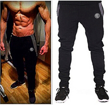 Mens Joggers brand Pants clothing Out door Sweatpants Golds Fitness and Bodybuilding Cotton Trousers Fitted Skinny