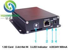 ArtNet naar DMX Converter; 4 x DMX uitgang; 2048 DMX kanalen, compatibel met Madrix EN Arkros software(China (Mainland))