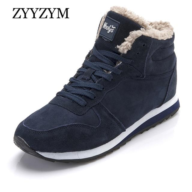 ZYYZYM Frauen Stiefel Winter Schnee Stiefel Frauen 2019 Winter Turnschuhe Stiefel Unisex Solide Plüsch Schuhe Mujer Botas Große größe
