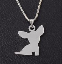 Cute Cartoon Pendant Chihuahua Necklace